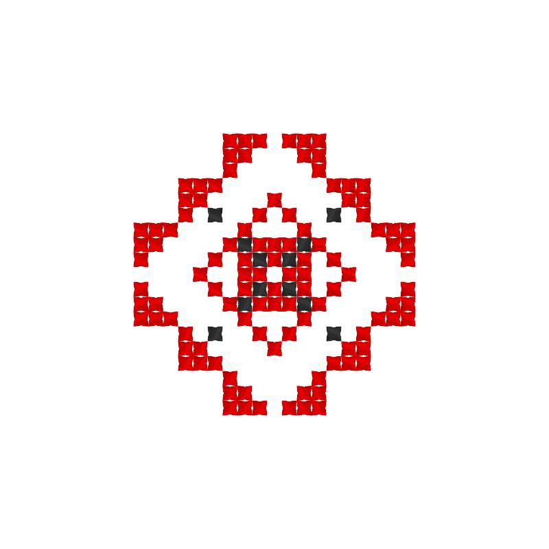Текстовий слов'янський орнамент: Тіла