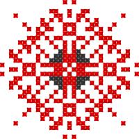 Текстовый украинский орнамент: Гармонії