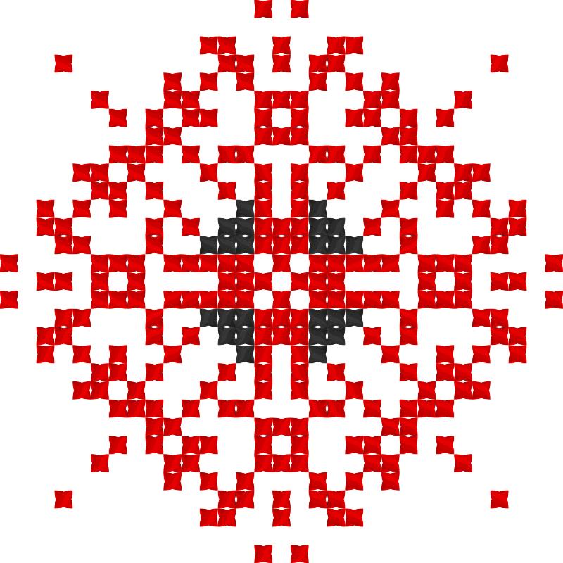 Текстовий слов'янський орнамент: Гармонії