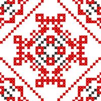 Текстовый украинский орнамент: Вогонь, вода
