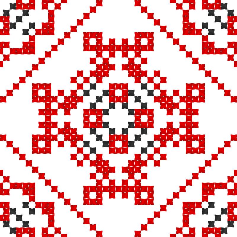 Текстовий слов'янський орнамент: Вогонь, вода