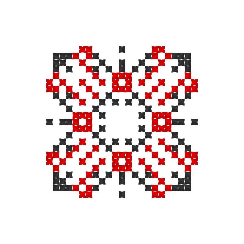 Текстовий слов'янський орнамент: Повітря
