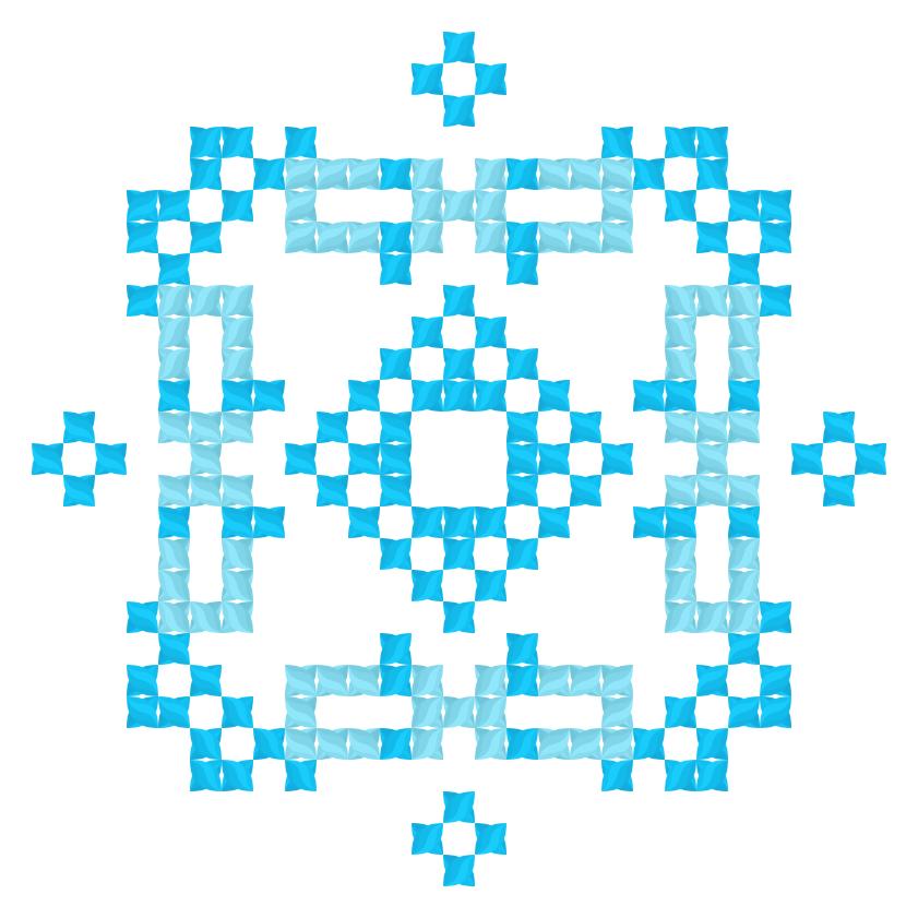 Текстовий слов'янський орнамент: Днiпро