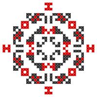 Текстовый украинский орнамент: Смартфон
