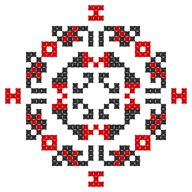 Текстовий слов'янський орнамент: Смартфон