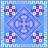 Текстовый украинский орнамент: Наталія 50