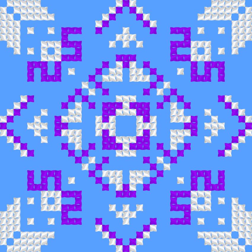 Текстовий слов'янський орнамент: Наталія 50