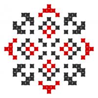 Текстовый украинский орнамент: Ілона