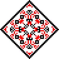 Текстовый украинский орнамент: Енергодар