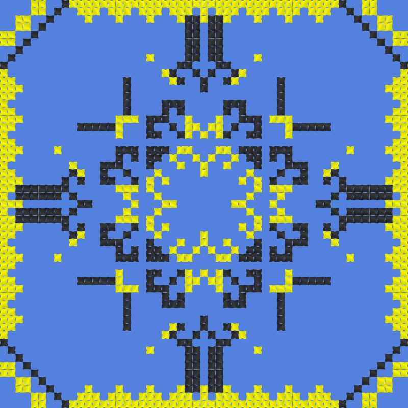 Текстовий слов'янський орнамент: Бамблбі