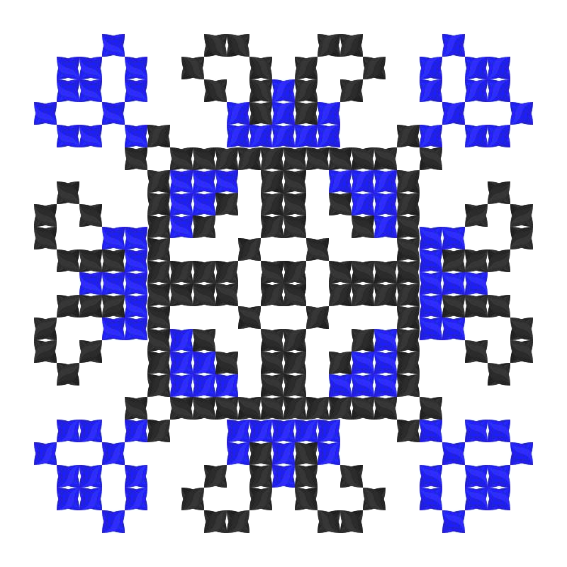 Текстовий слов'янський орнамент: Валерій