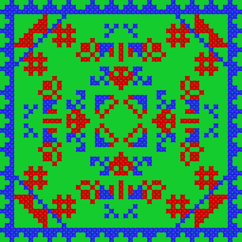 Текстовий слов'янський орнамент: Сайцвайт