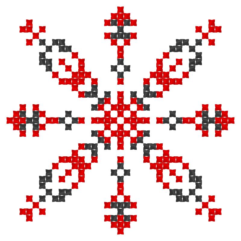 Текстовий слов'янський орнамент: Акім 1