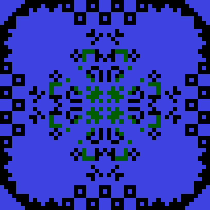 Текстовий слов'янський орнамент: Grimlok