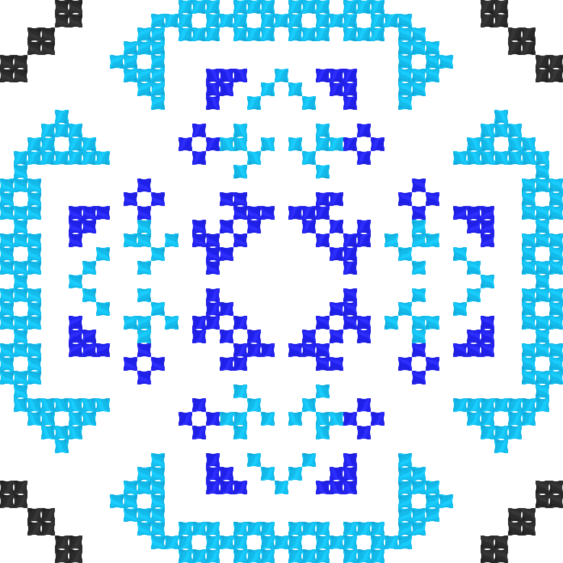 Текстовий слов'янський орнамент: Школа