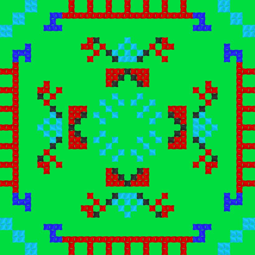 Текстовий слов'янський орнамент: Владік