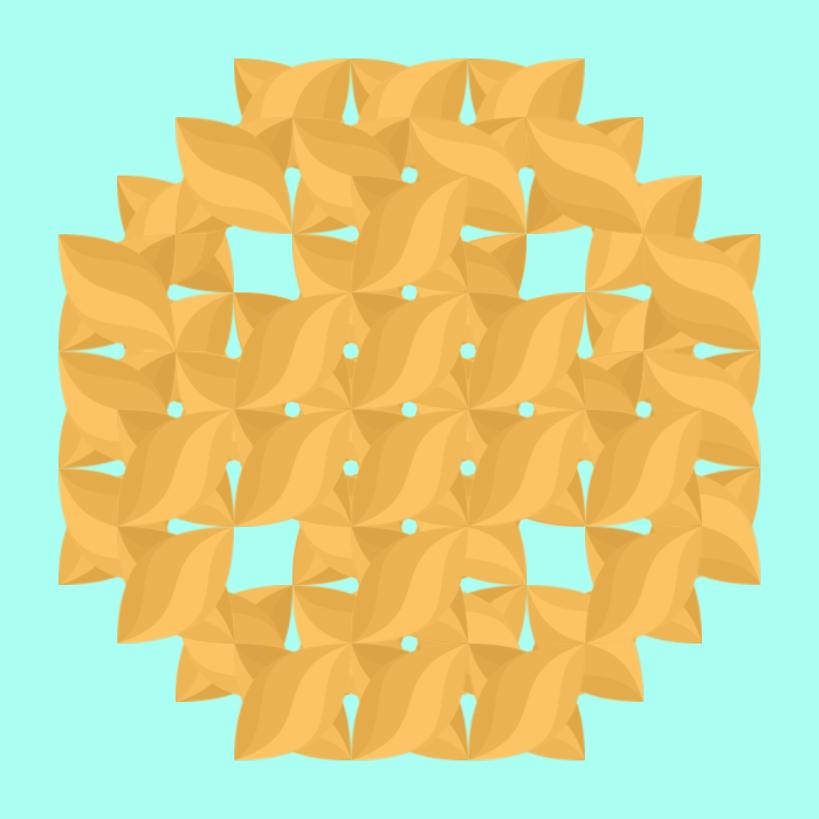 Текстовий слов'янський орнамент: печенька