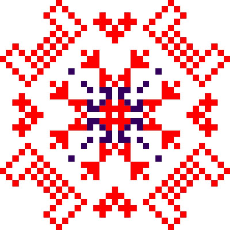 Текстовий слов'янський орнамент: Сiм'я