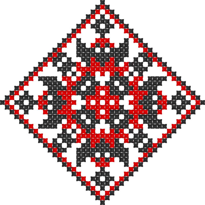 Текстовий слов'янський орнамент: -