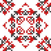 Текстовый украинский орнамент: Міцна родина