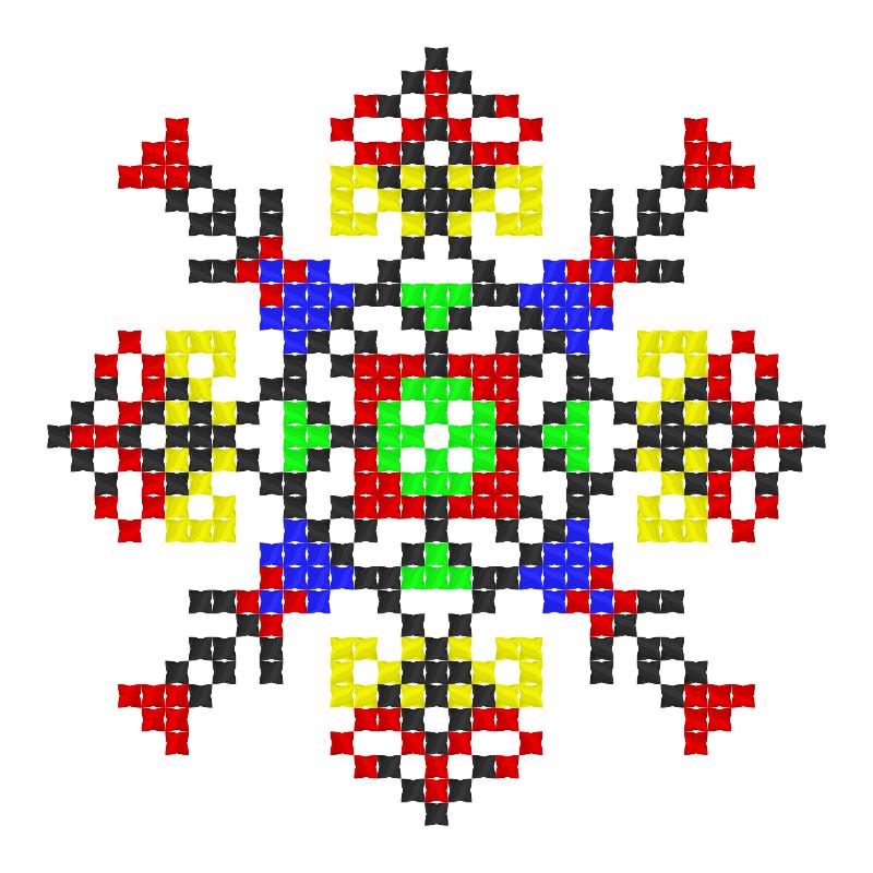 Текстовий слов'янський орнамент: Благодать