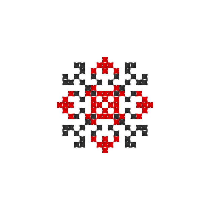 Текстовий слов'янський орнамент: Вася