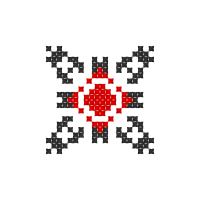 Текстовый украинский орнамент: Ганна