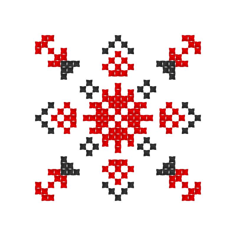 Текстовий слов'янський орнамент: Данило