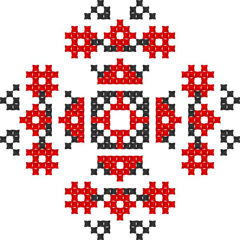 Текстовий слов'янський орнамент: 1984 р.