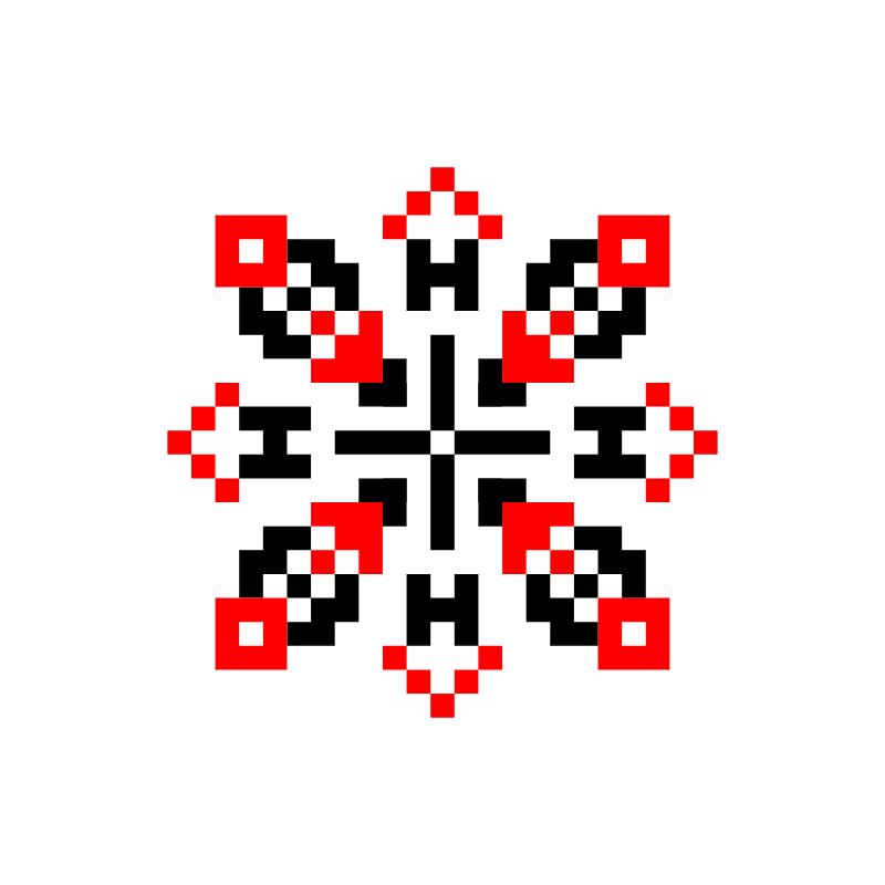 Текстовий слов'янський орнамент: Волянін