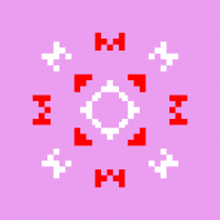 Текстовый украинский орнамент: Мама