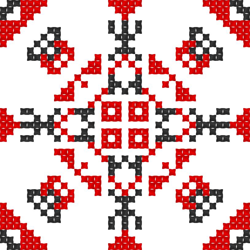 Текстовий слов'янський орнамент: ЮЛІАНА МАЄР