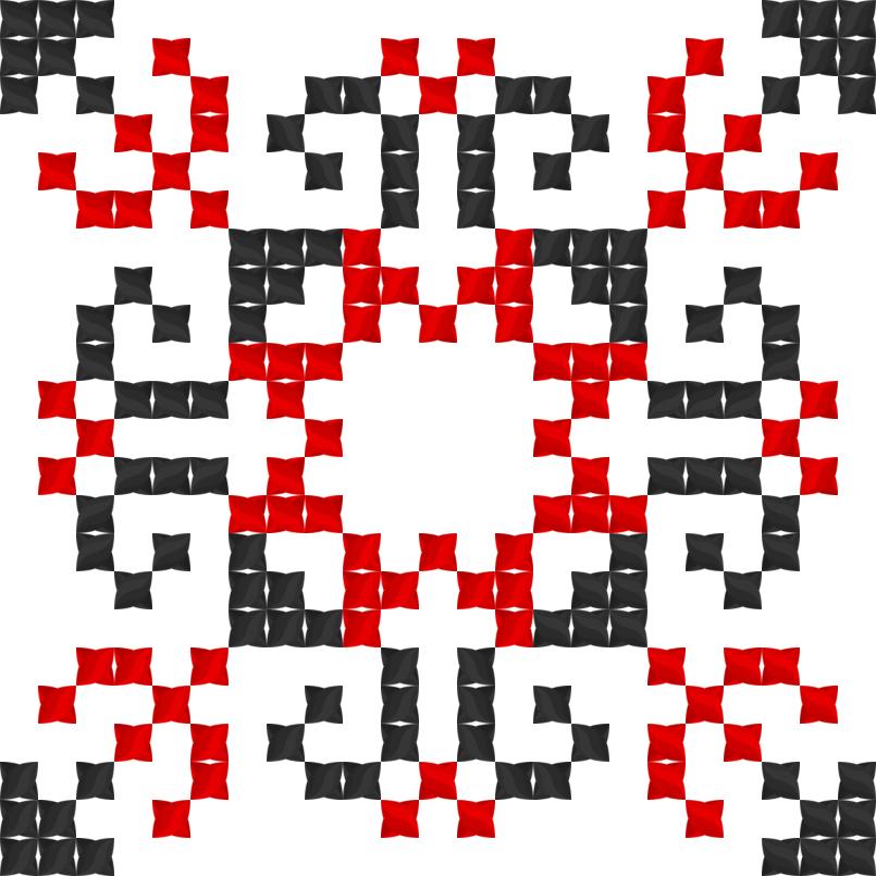 Текстовий слов'янський орнамент: Марися