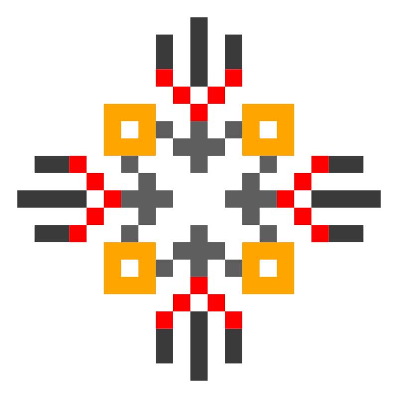 Текстовий слов'янський орнамент: Воля