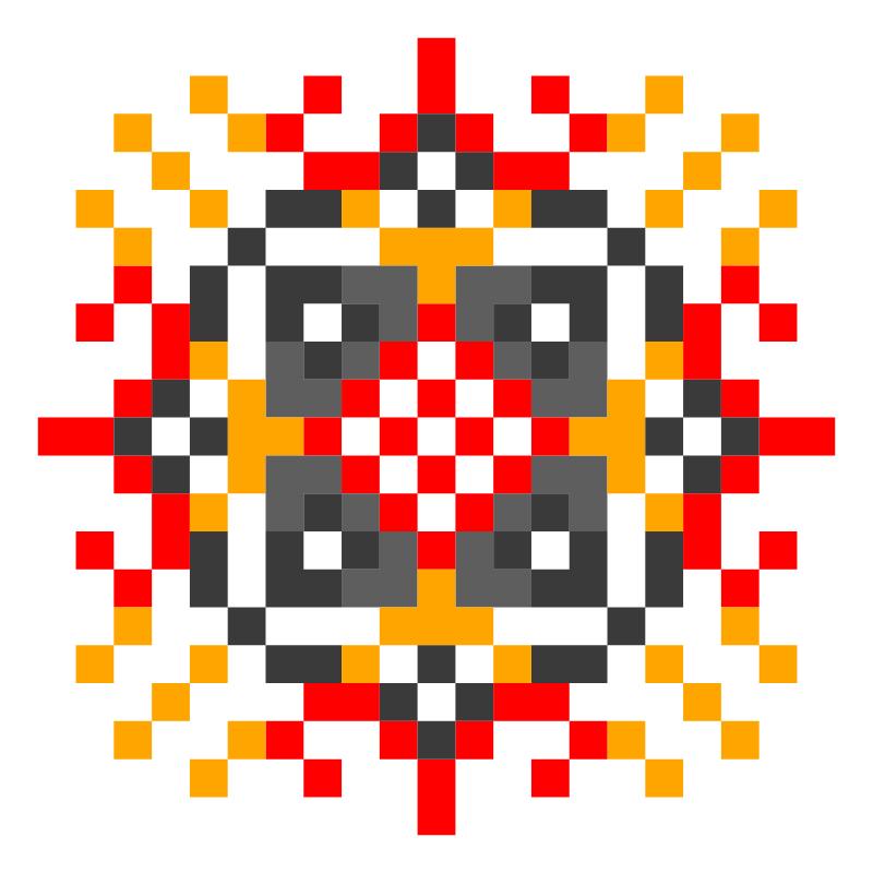 Текстовий слов'янський орнамент: Пристрасть