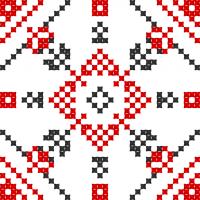 Текстовый украинский орнамент: сніжинка
