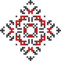 Текстовый украинский орнамент: терпіння