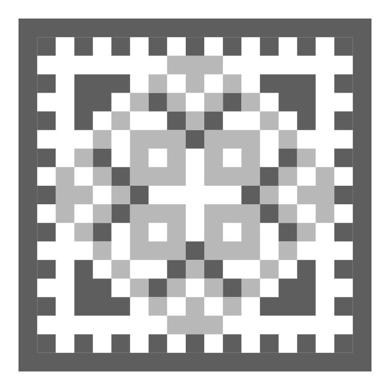 Текстовий слов'янський орнамент: люда