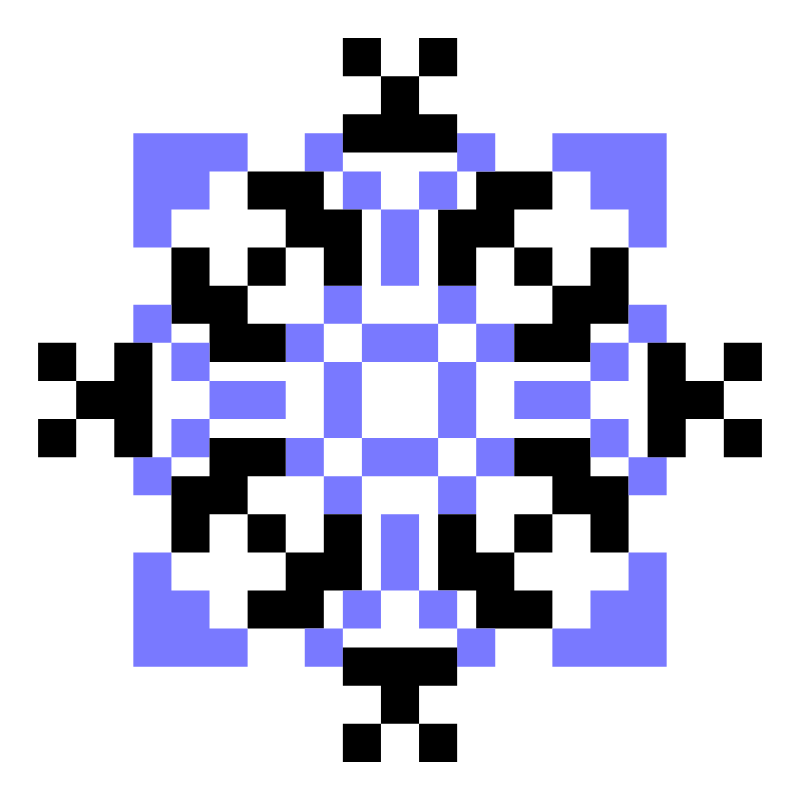 Текстовий слов'янський орнамент: ONUKA
