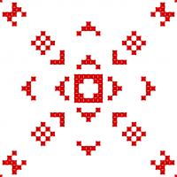 Текстовый украинский орнамент: Злата