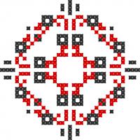 Текстовый украинский орнамент: 20 рокiв