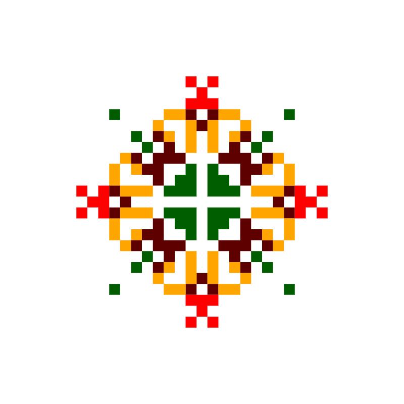 Текстовий слов'янський орнамент: марсік