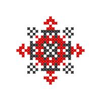 Текстовый украинский орнамент: Агнешка