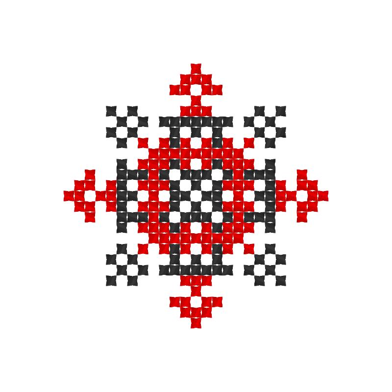Текстовий слов'янський орнамент: Агнешка