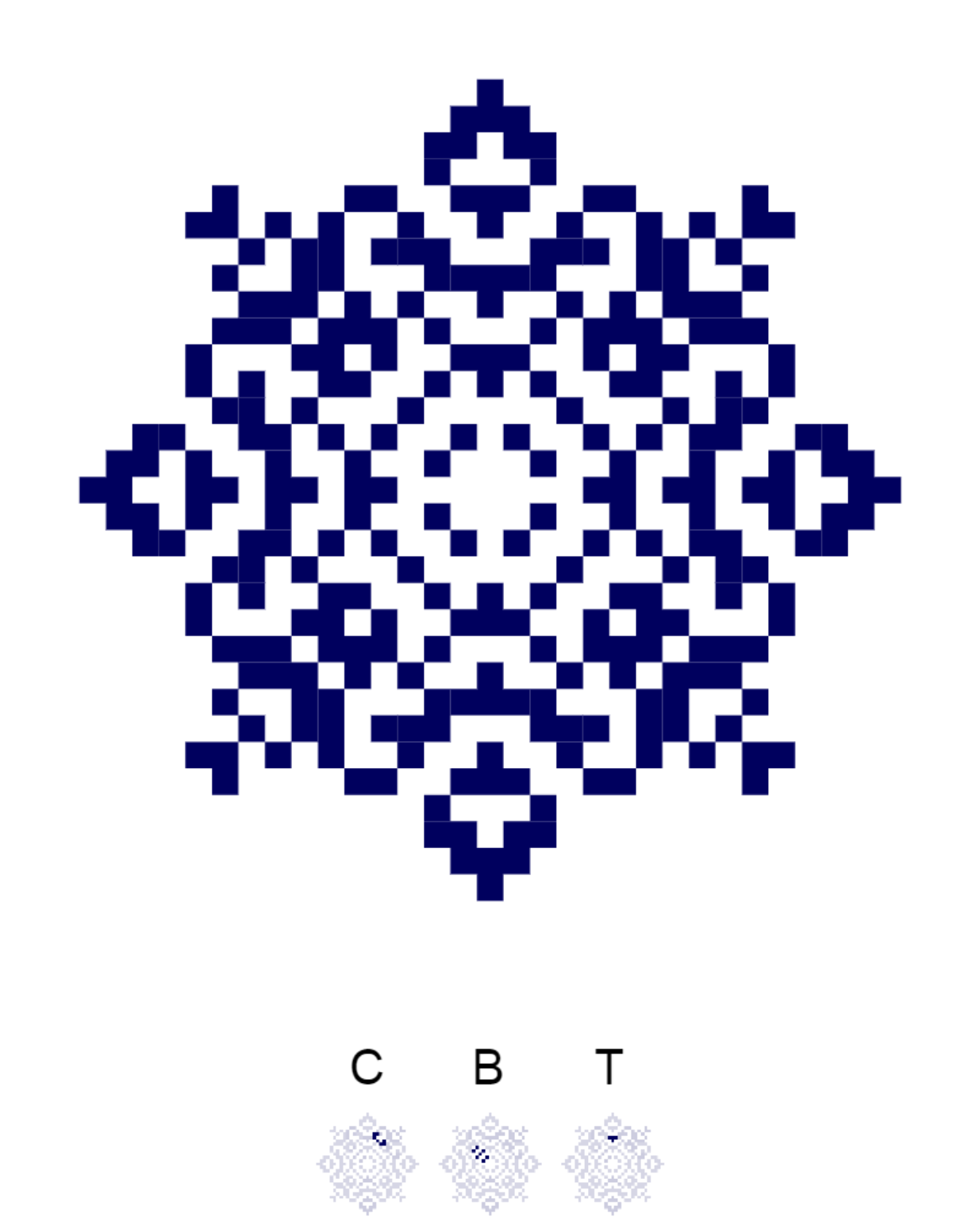 Текстовий слов'янський орнамент: свт