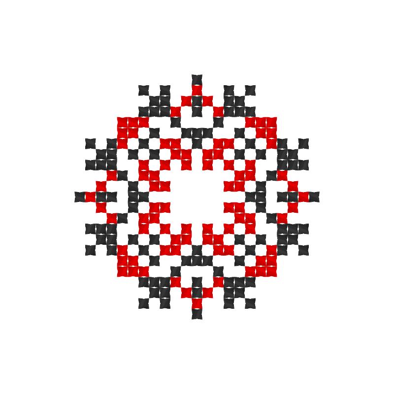 Текстовий слов'янський орнамент: Наталія