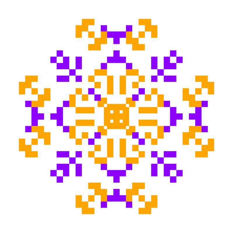 Текстовий слов'янський орнамент: Аріадна