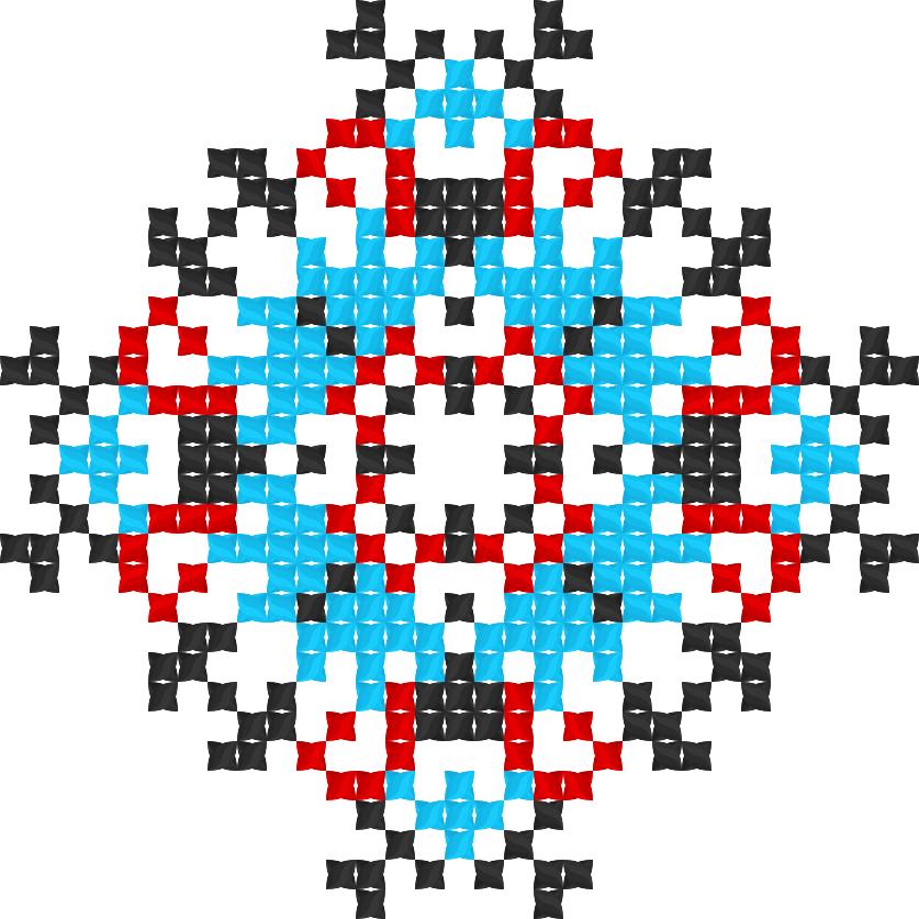Текстовий слов'янський орнамент: Підгірняк