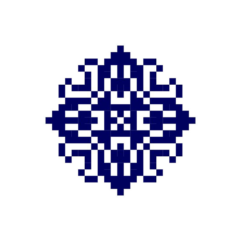 Текстовий слов'янський орнамент: Тарасик