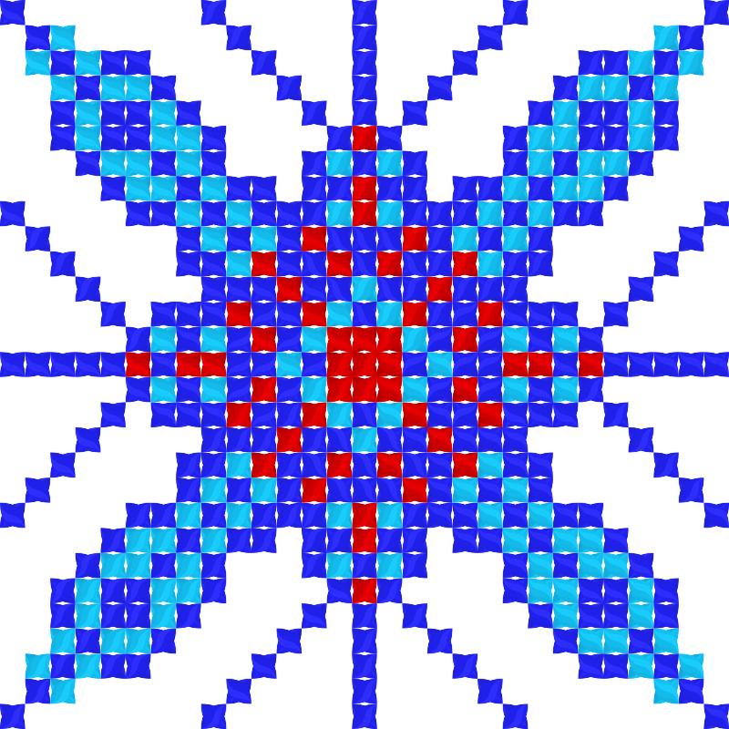Текстовий слов'янський орнамент: Новий дiм